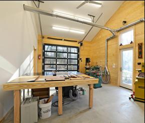 portes de garage faire d un garage un atelier de. Black Bedroom Furniture Sets. Home Design Ideas