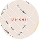 Map Beloeil